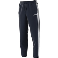 Adidas Mens 3 Stripe Ess Tapered Pant - Navy/White