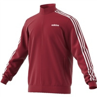 Adidas Mens Tricot Full Zip Track Top - Red/White