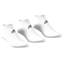 Adidas Light Low 3 Pack - White/Black