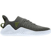 Adidas Mens AlphaBounce Trainer - Green