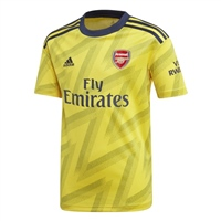 Adidas Arsenal FC Away Jersey 19/20 - Kids - Yellow/Black