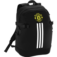 Adidas Man Utd Backpack - Black/White