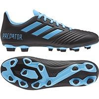 Adidas Predator 19.4 FxG Football Boots - Black/Blue