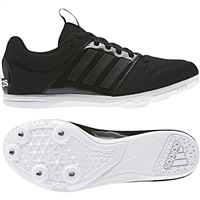 Adidas Allroundstar Junior Running Spikes - Black/White