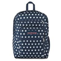 Jansport Big Student Backpack 19 - Denim Polka