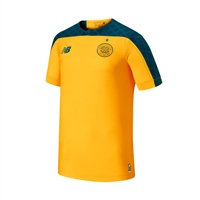 New Balance Celtic Away S/S Jersey 19/20 - Amber/Bottle