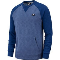 Nike Mens NSW Optic Crew Top - Coastal Blue