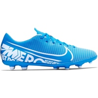 Nike Mercurial Vapor 13 Club FG/MG Football Boot - Blue/White