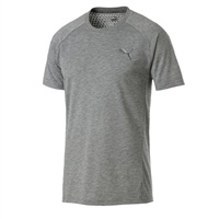 Puma Mens Evostripe Move Tee - Grey Heather