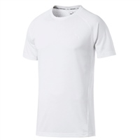 Puma Mens Evostripe Move Tee - White