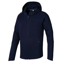 Puma Men Evostripe Hooded Track Top - Navy