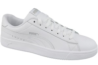 Puma Mens Court Breaker Leather - White/White