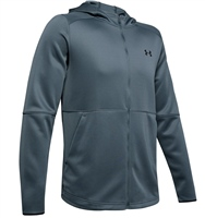 Under Armour Mens MK-1 Warm-Up Full Zip Hoodie - Grey