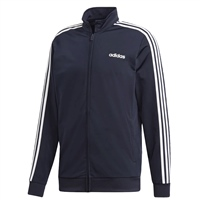 Adidas Mens Essential Tricot Track Top - Navy/White