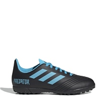 Adidas Predator 19.4 TF Turfs J - Kids - Black/Blue