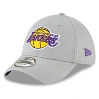 New Era 9FORTY Los Angeles Lakers Cap - Grey
