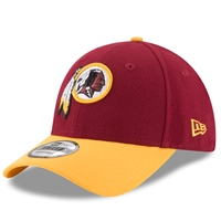 New Era 9FORTY Washington Redskins Cap - Burgundy/Gold