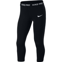 Nike Girls NP Capri - Black/White