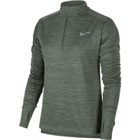 Nike Womens Pacer Half Zip Top - Green