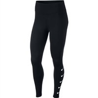 Nike Womens Swoosh Run Tights - Black/White