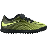 Nike Bravata II (Indoor) Trainer - Kids - Black/Volt