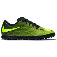 Nike BravataX II (TF) Turf Trainers - Kids - Black/Volt