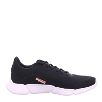 Puma Womens Interflex Runner - Black/Bridal Rose
