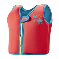 Speedo Sea Squad Swim Vest - Red/Blue