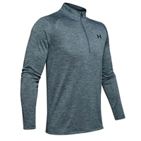 Under Armour Mens Tech 2.0 1/2 Zip Top - Grey