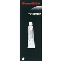 PowerGlide Cue Tip Cement - White