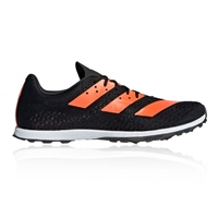 Adidas Mens Adizero XCS Sprint Shoes - Black/Orange