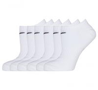 Nike Everday Lightweight No Show Socks (6pk) - White