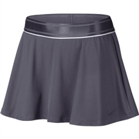 Nike Womens Court Flounce Skirt - Grey