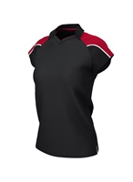 Chadwick IGEN FEMALE POLO - BLACK/RED