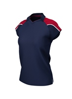 Chadwick IGEN FEMALE POLO - NAVY/RED
