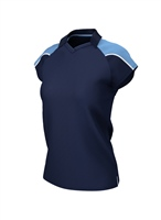 Chadwick IGEN FEMALE POLO - NAVY/SKY