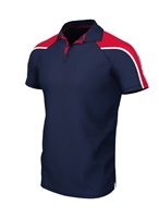 Chadwick IGEN UNISEX POLO - NAVY/RED