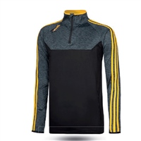 ONeills Kasey Brushed Half Zip Top - Adult - Black/Mel Black/Amber