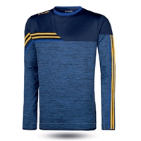 ONeills Nevis Brushed Crew Neck Top  Mel Marine/Amber/Royal