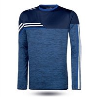 ONeills Nevis Brushed Crew Neck Top  Mel Marine/White/Royal