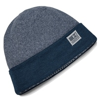 Under Armour Mens CGI Fleece Beanie - Navy