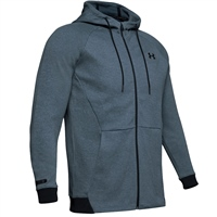 Under Armour Mens UNSTOPPABLE 2X Knit FZ Hoodie - Grey