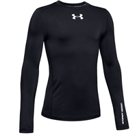 Under Armour Boys ColdGear Amour L/S Top - Black