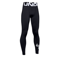 Under Armour Boys ColdGear Armour Leggings - Black
