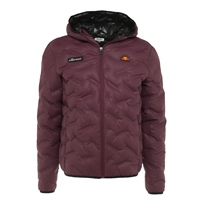 Ellesse Mens Stannetti Padded Jacket - Burgundy