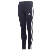 Adidas Girls TR EQ 3S Leggings - Navy/White