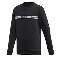 Adidas Boys SID BR Crew Sweat - Black/White
