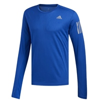 Adidas Mens Own The Run Long Sleeve Top - Blue