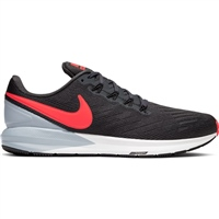 Nike Mens Air Zoom Structure 22 - Black/Bright Crimson