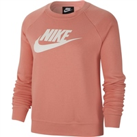 Nike Womens Essential Fleece Crew - Pink